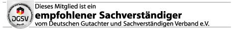 DSGV, Sachverständiger,Gutachter und Baubiologe Logo