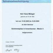 Modul 3 TÜV Rheinland